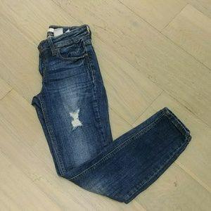 Francesca's Eunina Midrise skinny jeans